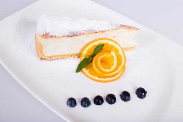 Hišni Cheese Cake S Pomarančo In Cimetom